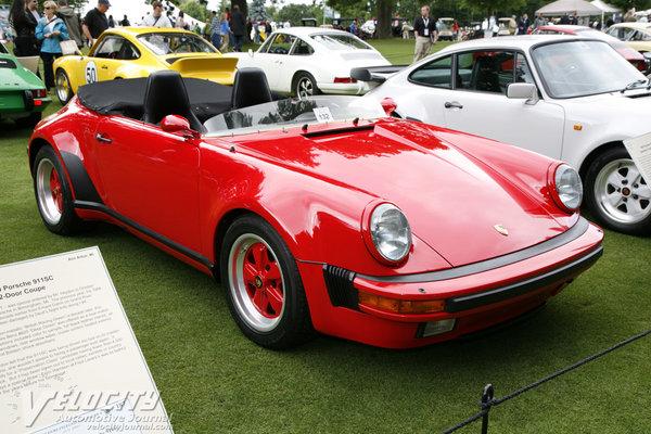 1985 Porsche 911 Speedster Concept Information