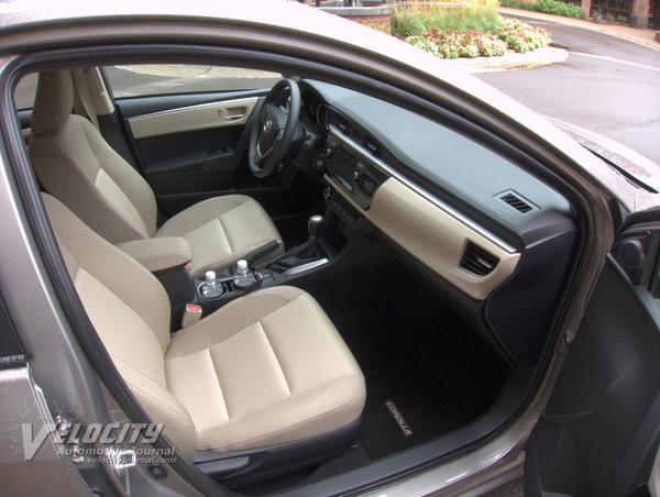 2014 Toyota Corolla Interior
