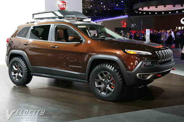 2014 Jeep Cherokee (shown with Mopar accessories)
