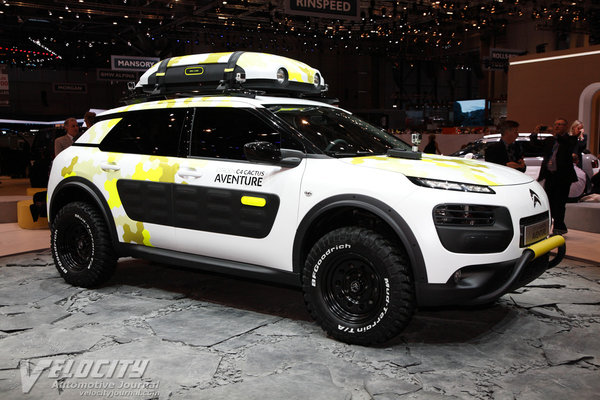 2014 Citroen C4 Cactus Adventure