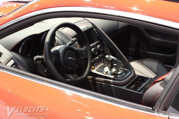 2015 Jaguar F-Type Coupe Interior
