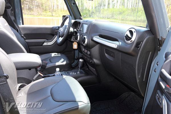 2014 Jeep Wrangler Interior