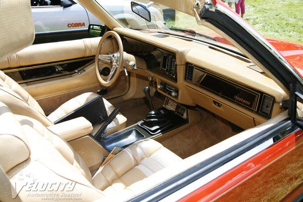 1979 Ford Mustang Daytona Interior