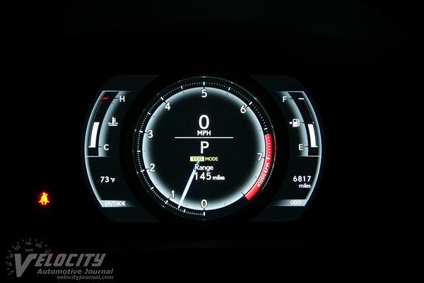 2014 Lexus IS 350 F-Sport Instrumentation