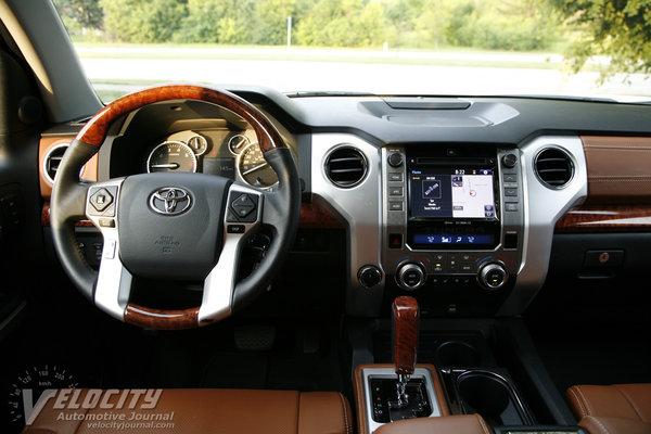 2014 Toyota Tundra Crew Cab 1794 Edition Instrumentation