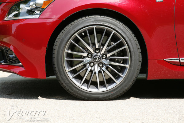 2014 Lexus LS 460 F Sport Wheel