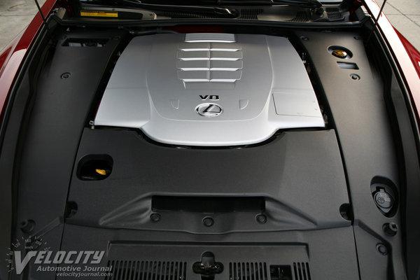 2014 Lexus LS 460 F Sport Engine