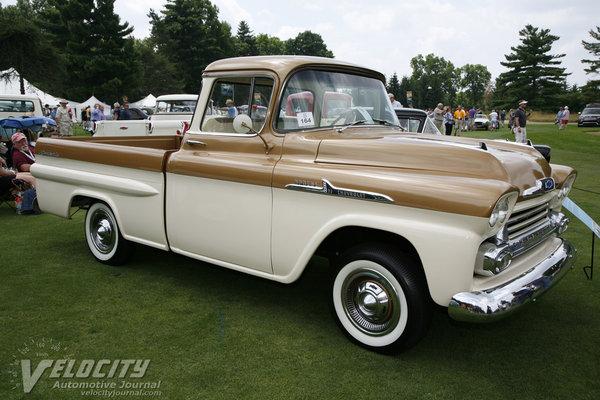 1958 Chevrolet 1/2 ton Apache