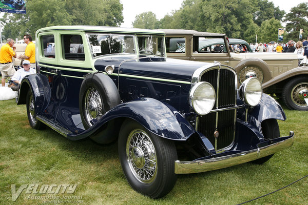 1931 Franklin Series 153 Deluxe Sedan by Walker