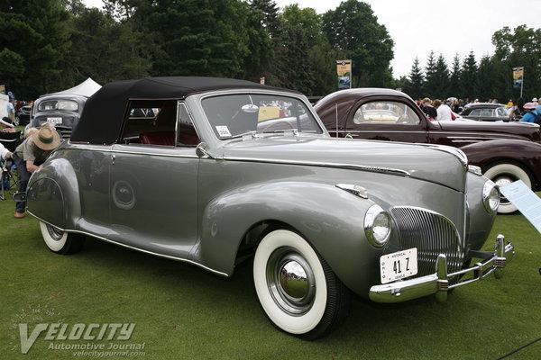 1941 Lincoln Zephyr convertible