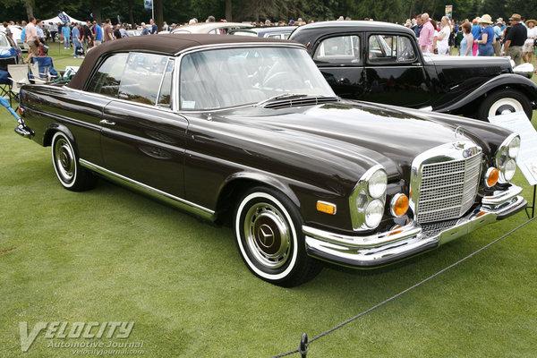 1971 Mercedes-Benz 280SE cabriolet