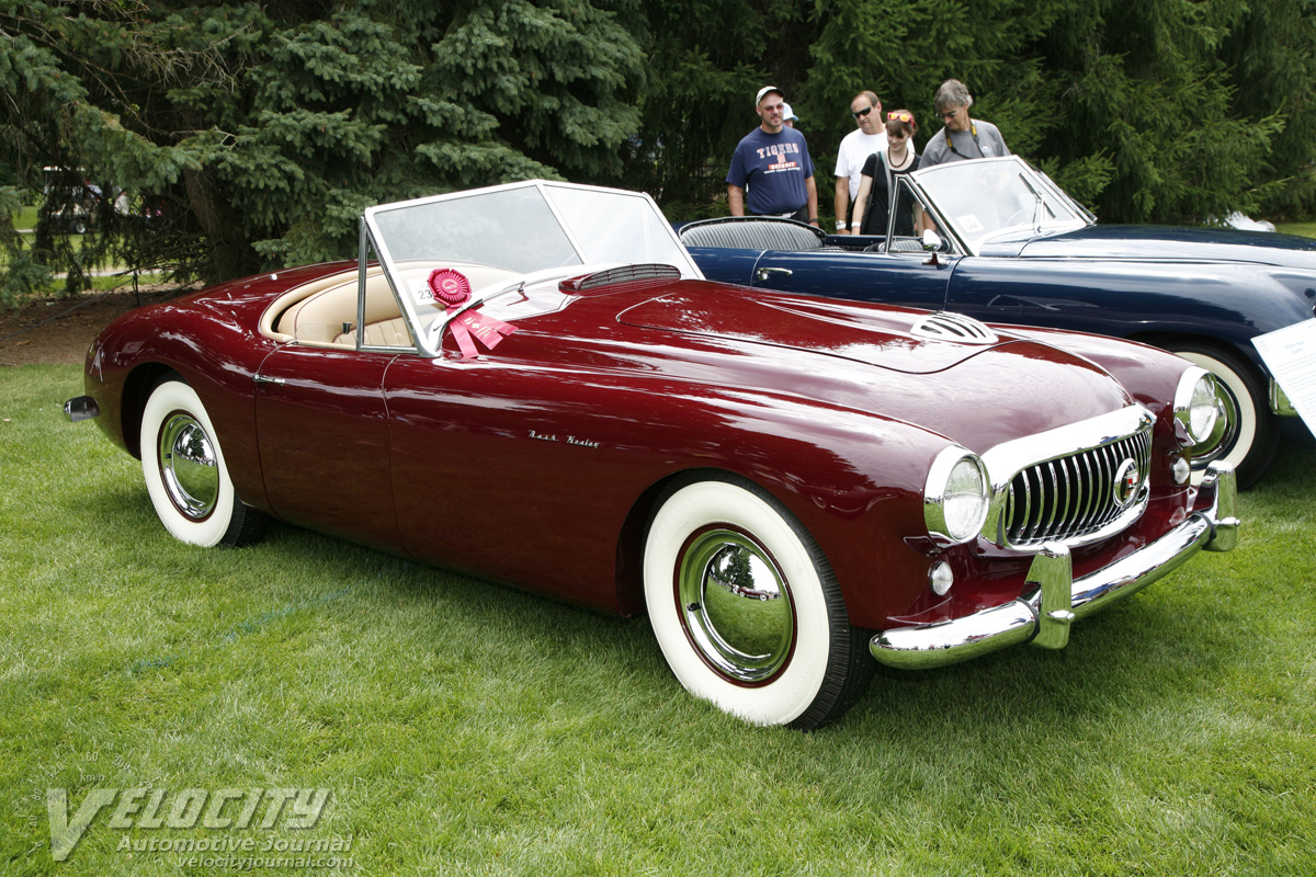 1950 Nash Healey Roadster Pictures