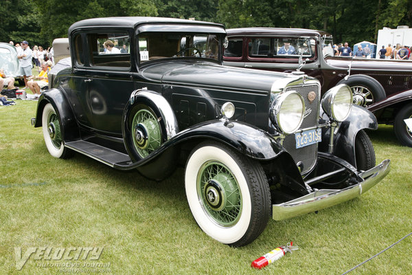 1931 Peerless Master 8 4463 Sports Coupe