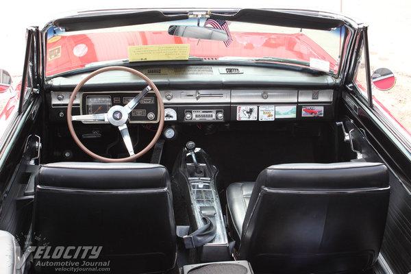 1966 Plymouth Valiant Signet convertible Interior
