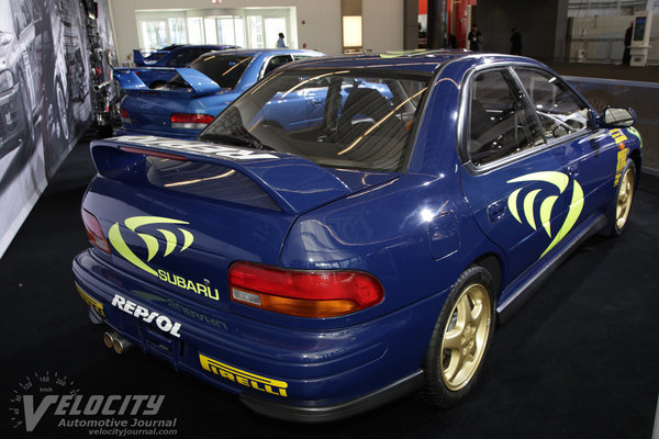 1996 Subaru Impreza 555 Rally Car