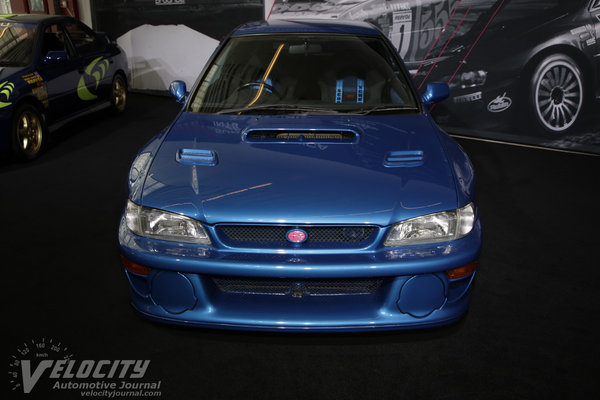 1999 Subaru Impreza 22B STI Rally Car