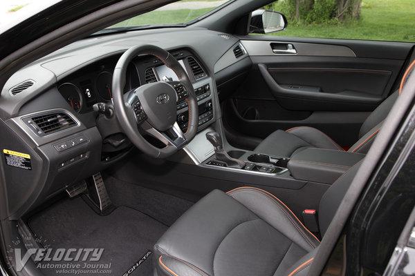 2015 Hyundai Sonata Sport Interior