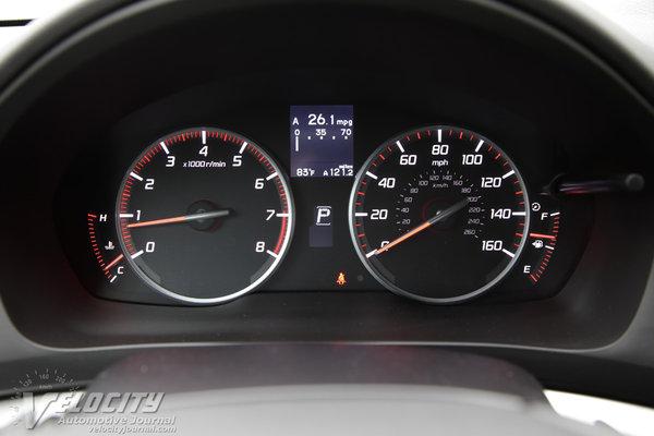 2016 Acura ILX Instrumentation