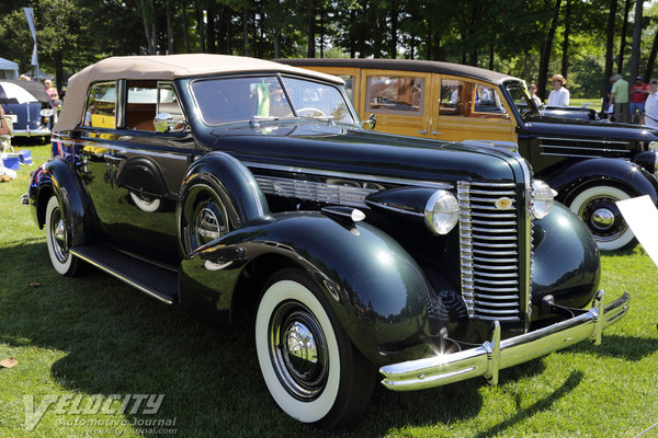 1938 Buick Series 40 Special 40C Convertible Sedan