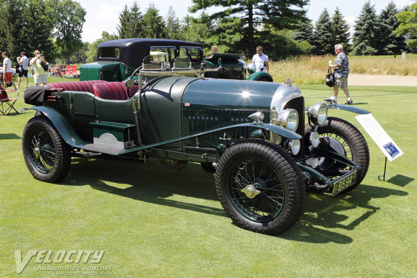 1924 Bentley Tourer by Vanden Plas