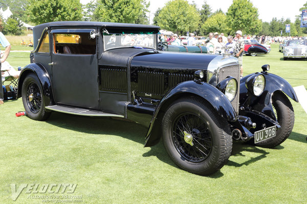 1929 Bentley Speed Six Grafton Coupe by Freestone and Webb
