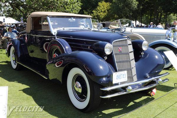 1934 Cadillac 355-D Convertible Coupe