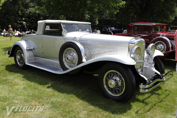 1929 Duesenberg J Convertible Coupe Roadster by Murphy