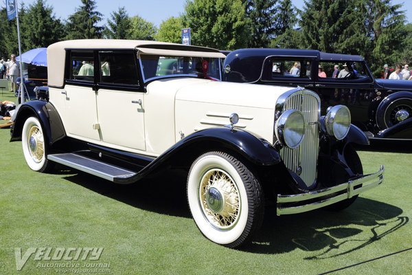 1930 Franklin 147 Speedster Sedan by Dietrich