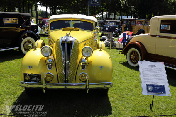 1936 Hudson 65 Convertible Coupe