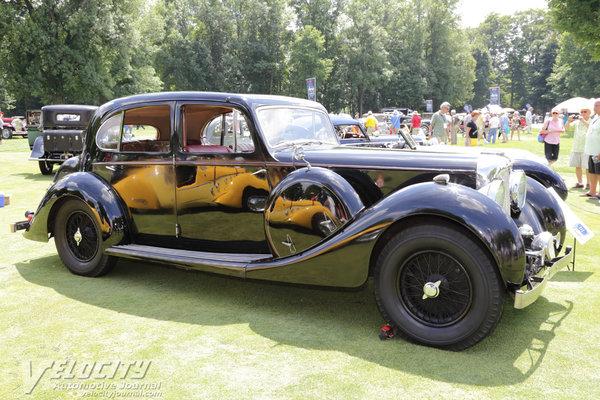 1938 Lagonda LG6 de Ville Saloon