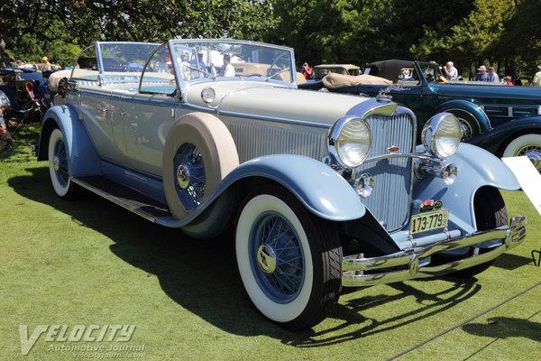 1931 Lincoln Model K Dual Cowl Phaeton