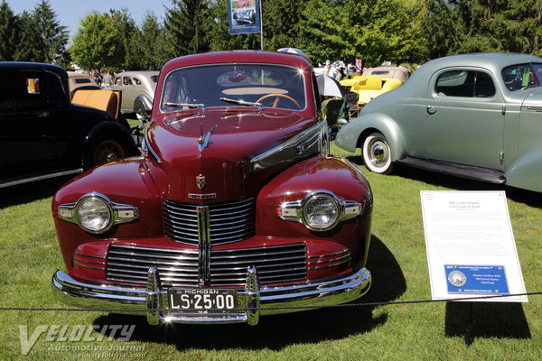 1942 Lincoln Zephyr Club Coupe