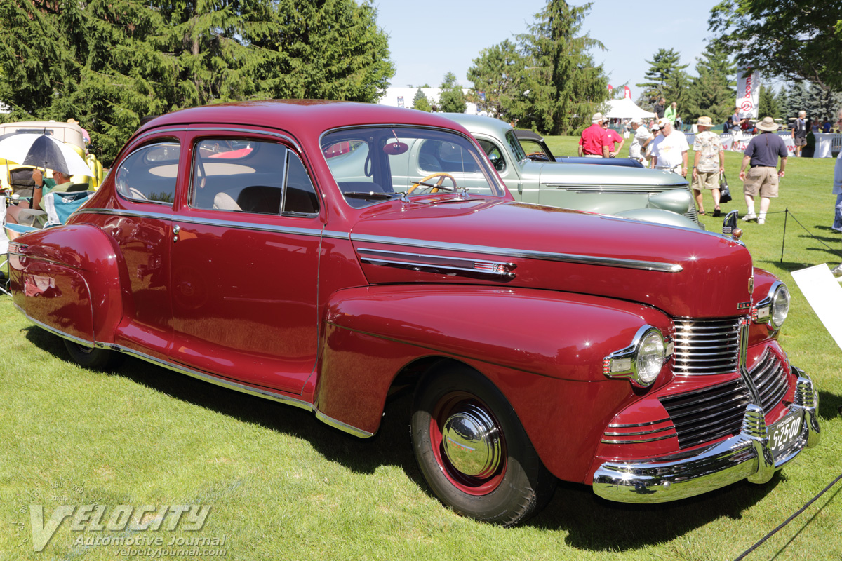 1942 Lincoln Zephyr Club Coupe Pictures