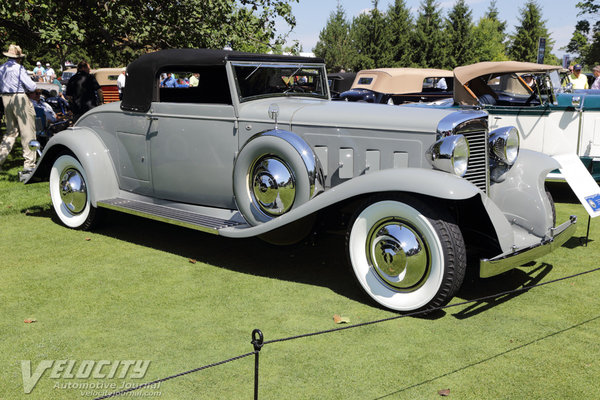 1931 Marmon 16 Convertible coupe