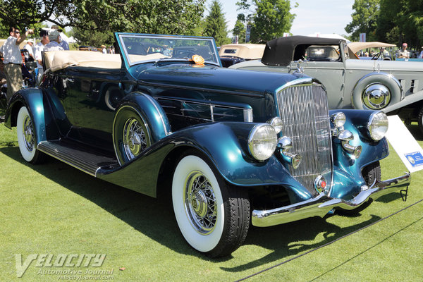 1935 Pierce-Arrow 1245 Convertible Coupe