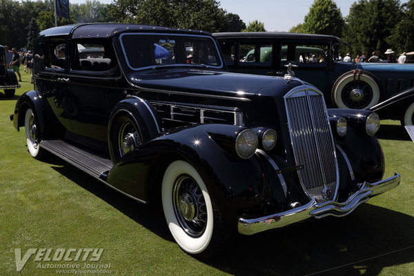 1936 Pierce-Arrow 1603 Town Car by Derham