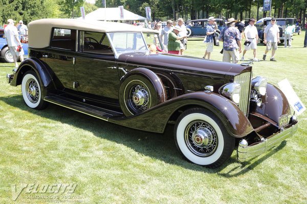 1934 Packard Convertible Sedan by Dietrich
