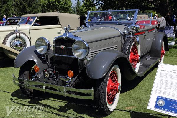 1928 Stutz Dual Cowl Phaeton
