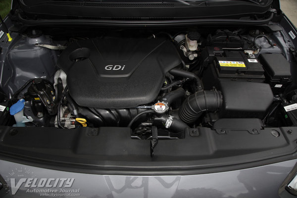 2015 Hyundai Accent GLS Engine