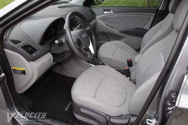 2015 Hyundai Accent GLS Interior