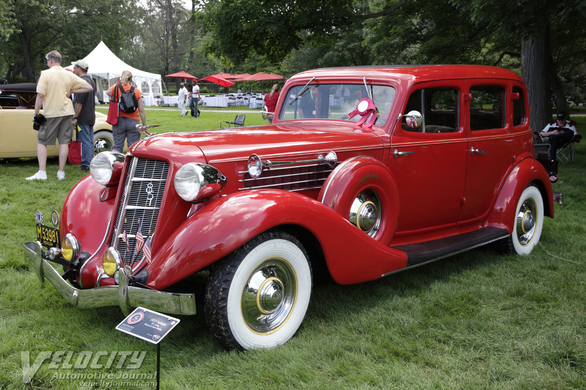 picture of 1935 auburn 851 sedan