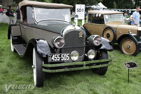 1926 Chrysler G-70 roadster