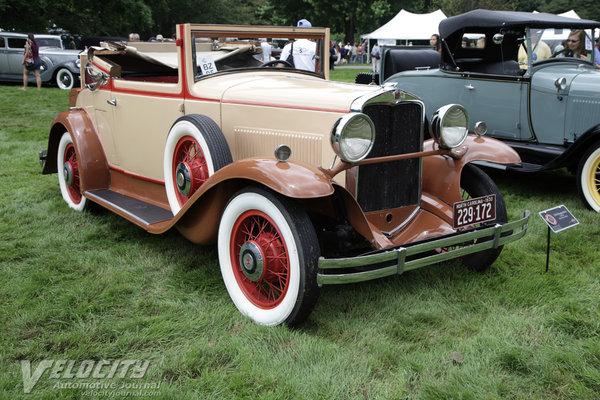 1930 Hupmobile Cabriolet
