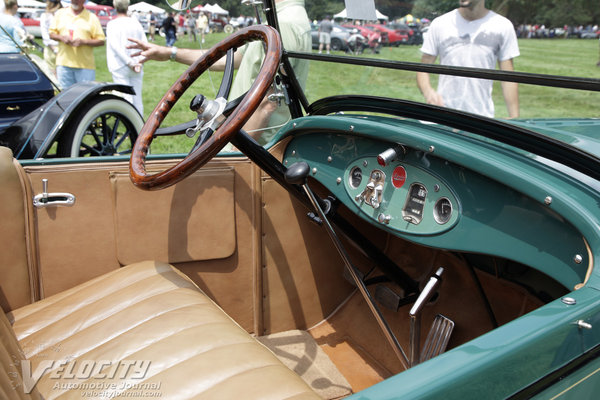 1926 Oldsmobile Deluxe Roadster Interior