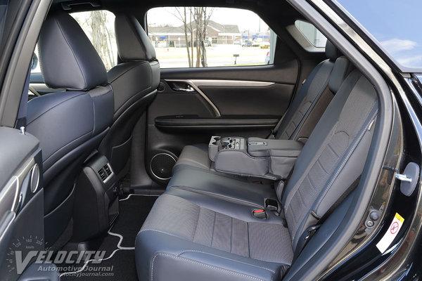 2016 Lexus RX450h Interior