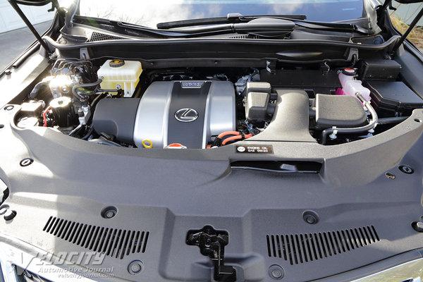 2016 Lexus RX450h Engine