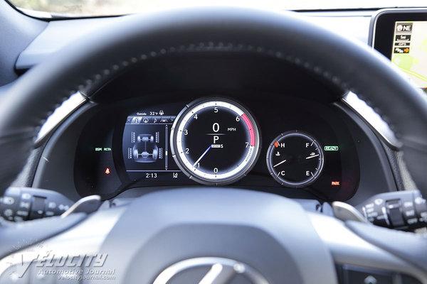 2016 Lexus RX450h Instrumentation