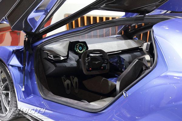 2016 Techrules GT96 Interior