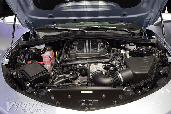 2017 Chevrolet Camaro ZL1 Convertible Engine