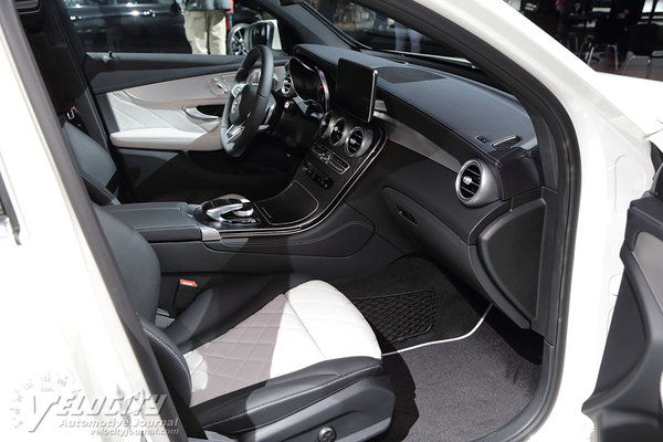 2017 Mercedes-Benz GLC-Class Coupe Interior